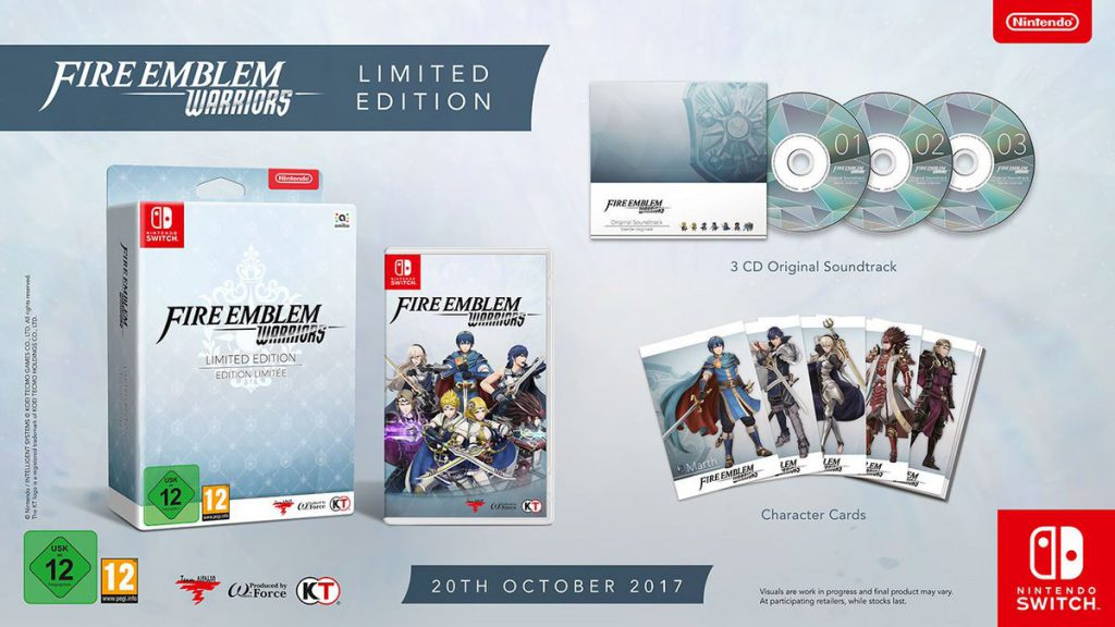 Fire Emblem Warriors Nintendo Switch Limited Edition