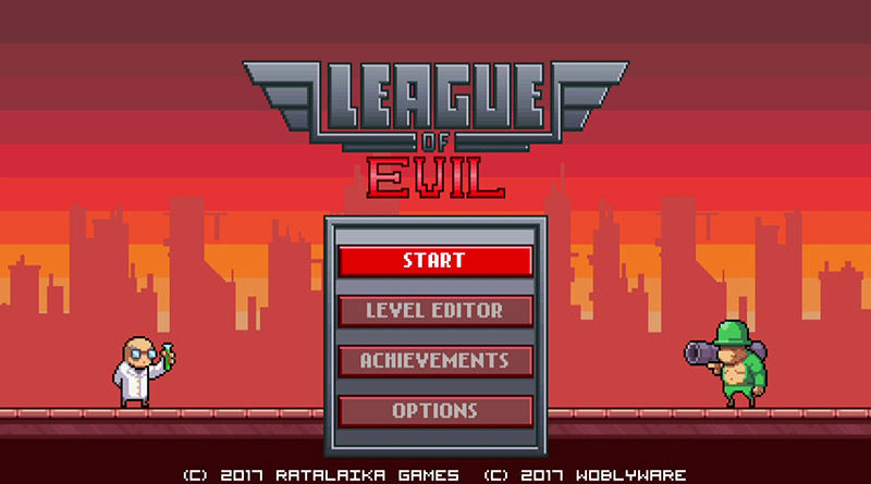 League of Evil Nintendo Switch