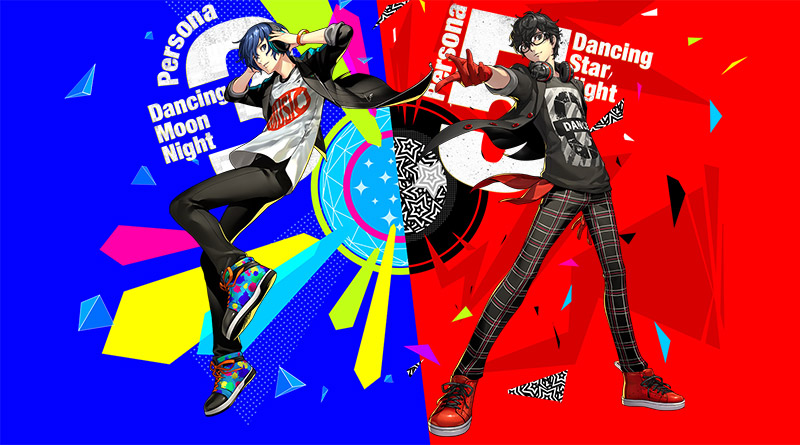 Persona 3: Dancing Moon Night Persona 5: Dancing Star Night PS Vita PS4