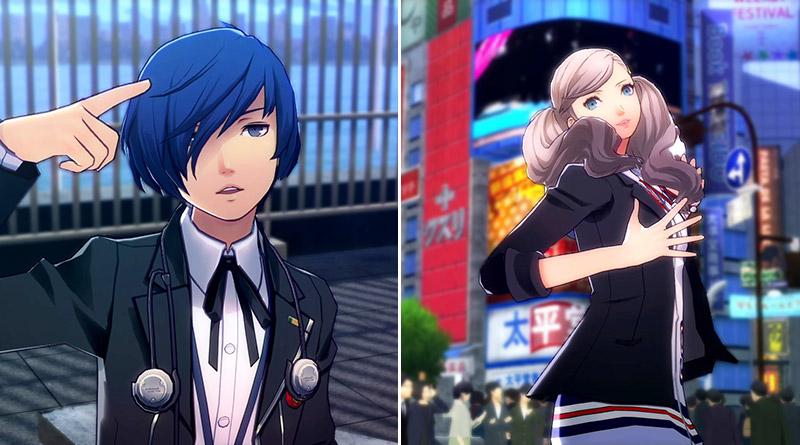 Persona 3: Dancing Moon Night Persona 5: Dancing Star Night PS Vita PS4