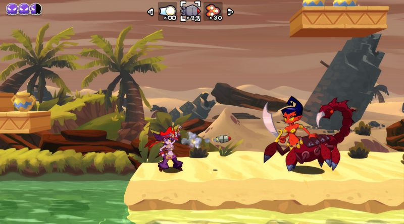 Shantae: Half-Genie Hero Pirate Queen's Quest DLC PS Vita PS4 Nintendo Switch