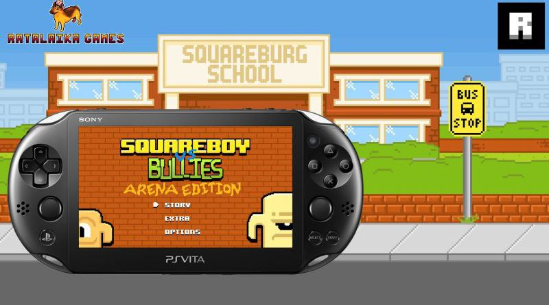 Squareboy vs Bullies PS Vita