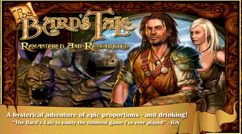 The Bard's Tale PS Vita PS4