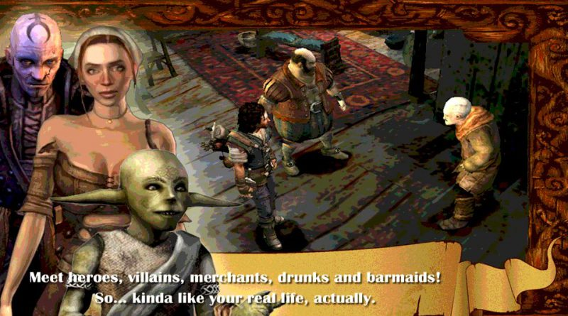 The Bard's Tale PS Vita PS4