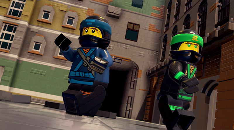 The LEGO NINJAGO Movie Video Game Nintendo Switch