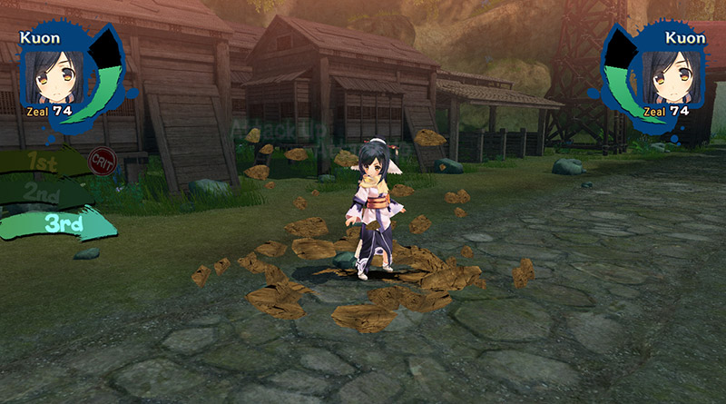 Utawarerumono: Mask of Truth PS Vita