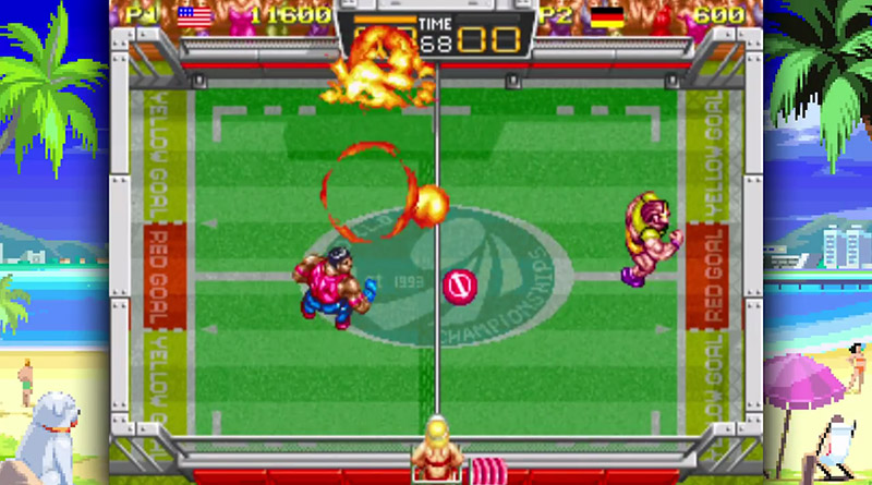 Windjammers PS Vita
