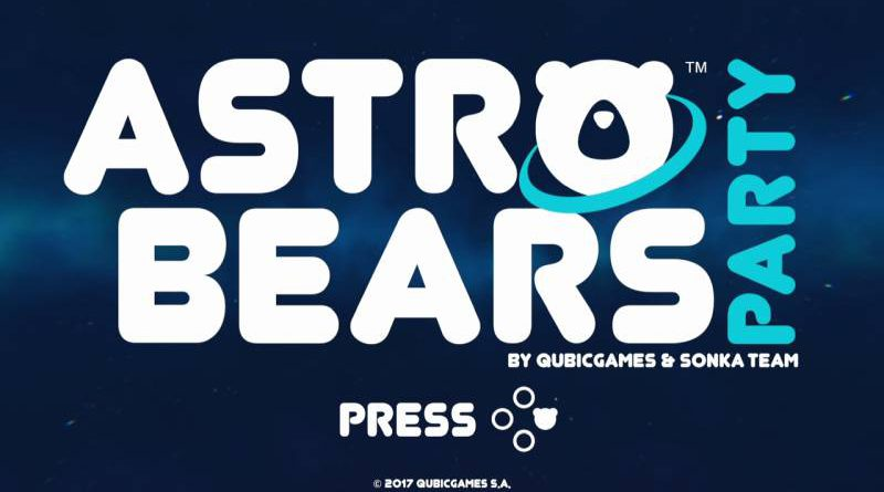 Astro Bears Party Nintendo Switch