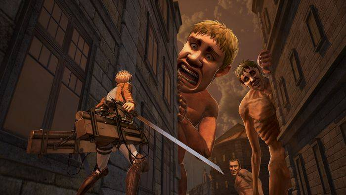 Attack on Titan 2 PS Vita Nintendo Switch
