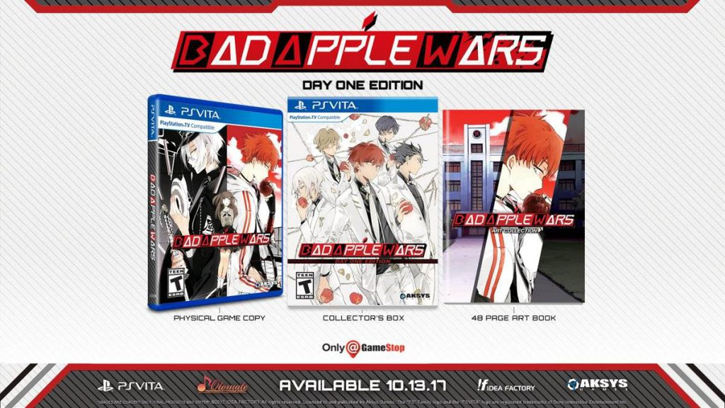 Bad Apple Wars PS Vita Limited Edition