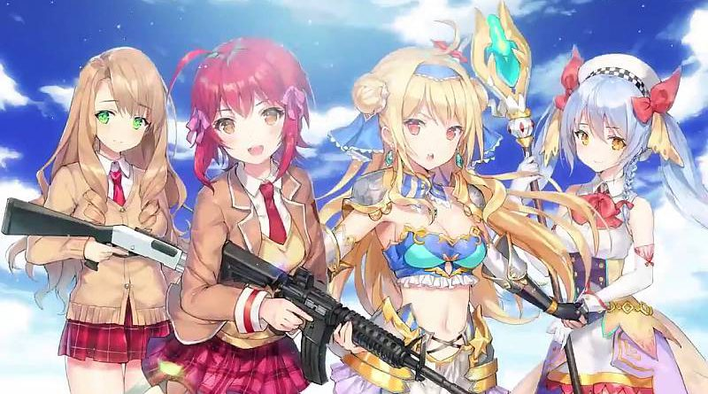Bullet Girls Phantasia PS Vita & PS4