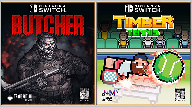 Butcher & Timber Tennis Nintendo Switch