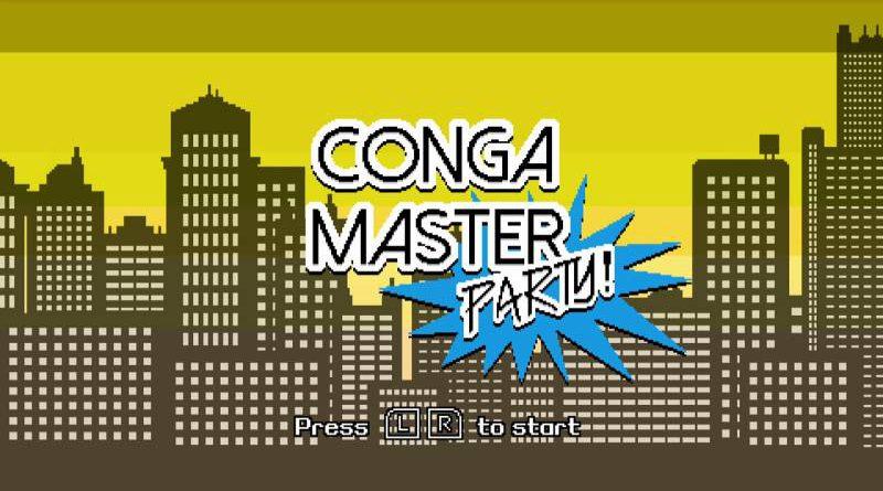 Conga Master Party Nintendo Switch