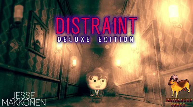 DISTRAINT: Deluxe Edition PS Vita, PS4, Nintendo Switch & 3DS