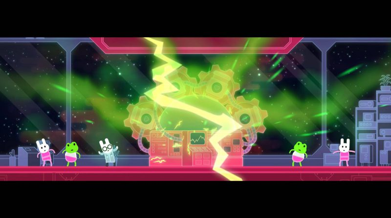 Lovers In A Dangerous Spacetime Nintendo Switch