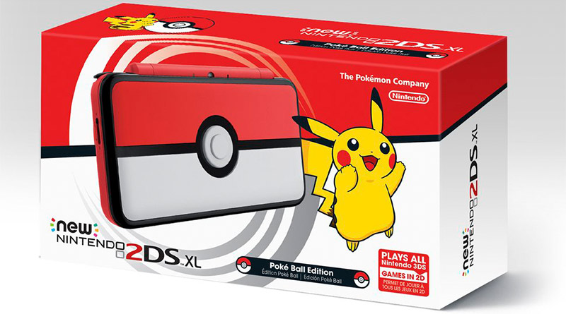 Poké Ball New Nintendo 2DS XL