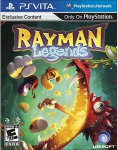 Rayman Legends PS Vita