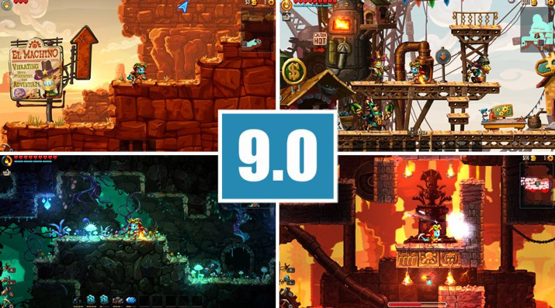 Review SteamWorld Dig 2 PS Vita