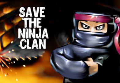 Save the Ninja Clan Coming To PS Vita On October 6, 2017