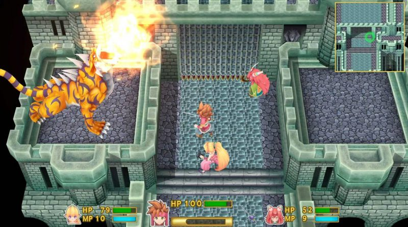 Secret of Mana PS Vita PS4