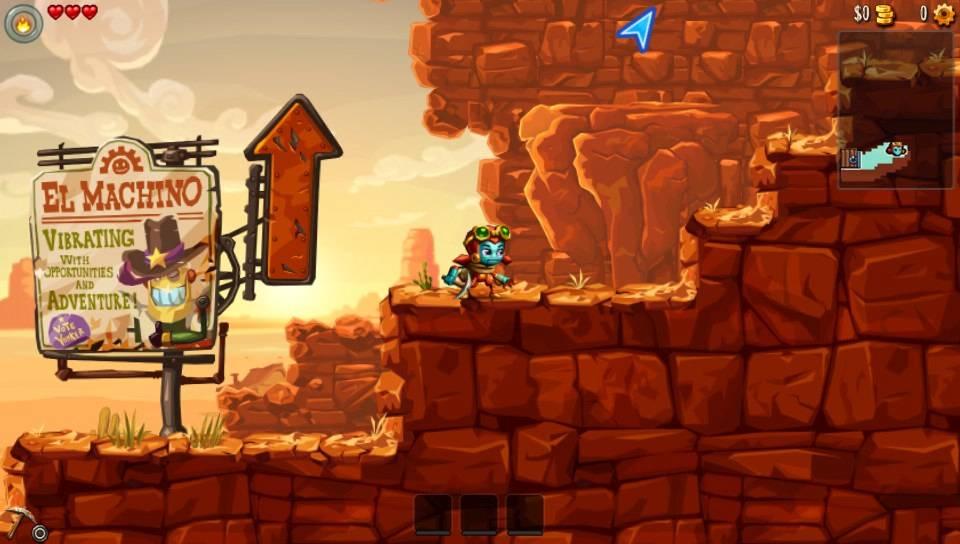 SteamWorld Dig 2 PS Vita