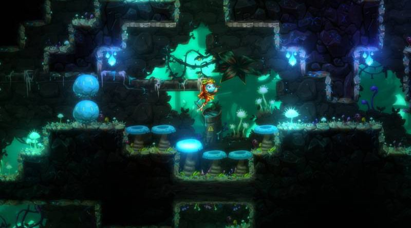 SteamWorld Dig 2 PS Vita PS4