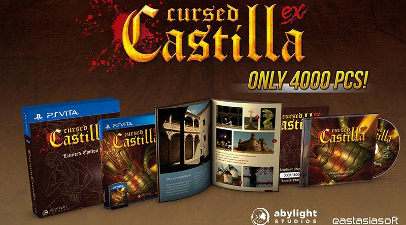 Cursed Castilla PS Vita Maldita Castilla EX