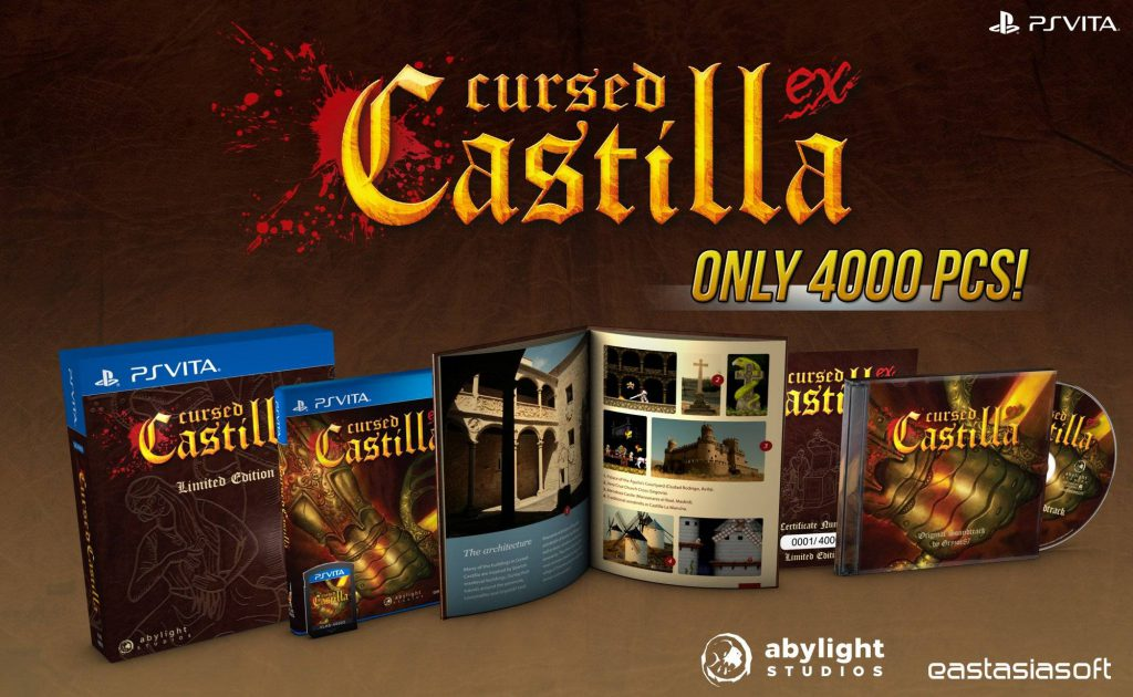 Cursed Castilla PS Vita Limited Edition