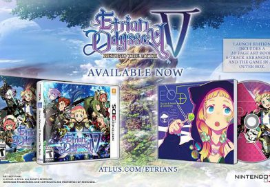Etrian Odyssey V: Beyond the Myth Out Now For Nintendo 3DS