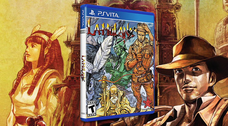 La-Mulana EX PS Vita Limited Run
