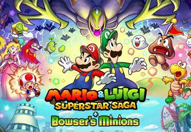 Mario & Luigi: Superstar Saga + Bowser's Minions Now Available For 3DS