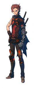 Metal Max Xeno PS Vita PS4 Protagonist Talis