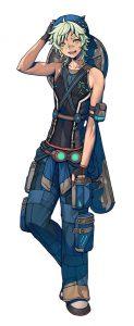 Metal Max Xeno PS Vita PS4 Toni