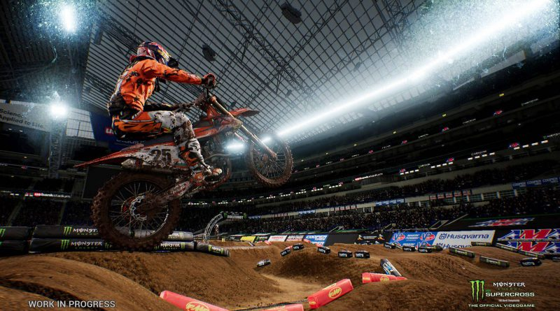 Monster Energy Supercross - The Official Videogame Nintendo Switch