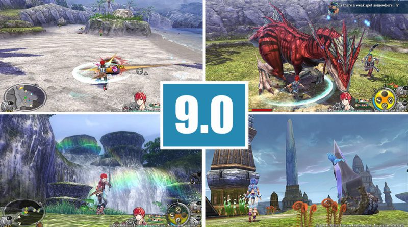 Review Ys VIII: Lacrimosa of Dana PS Vita