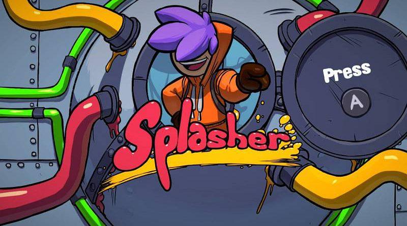 Splasher Nintendo Switch