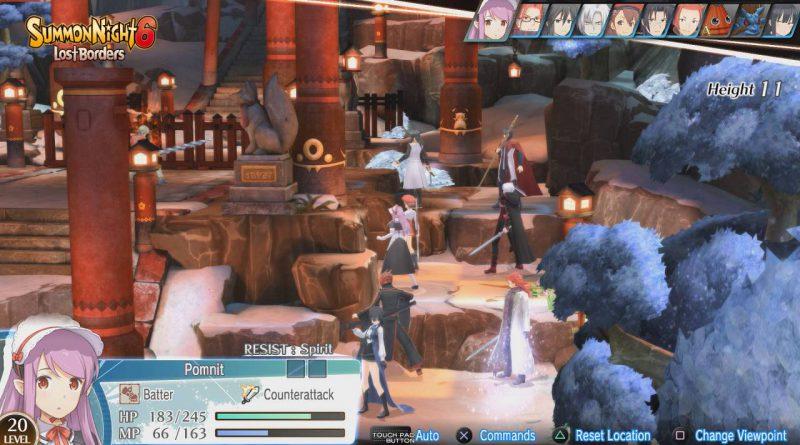 Summon Night 6: Lost Borders PS Vita PS