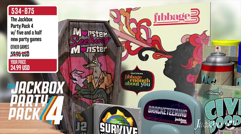 The Jackbox Party Pack 4 Nintendo Switch