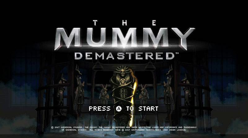 The Mummy Demastered Nintendo Switch