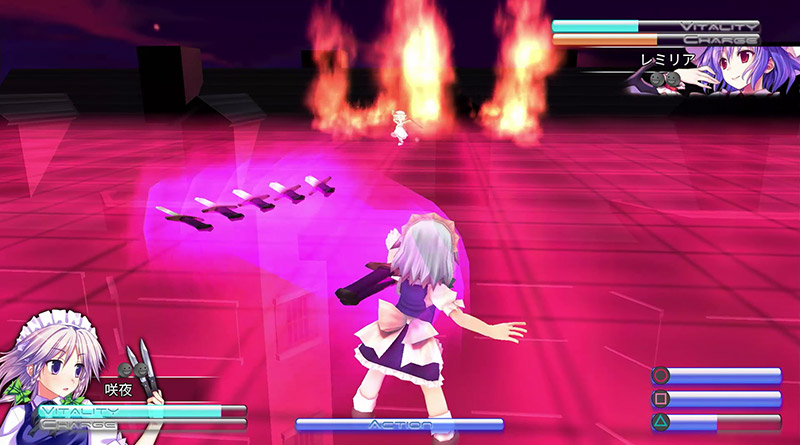 Touhou Kobuto V: Burst Battle PS Vita