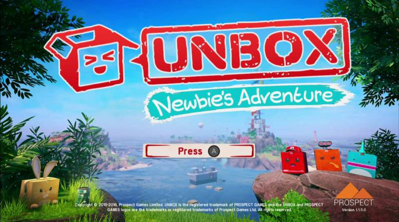 Unbox: Newbie's Adventure Nintendo Switch