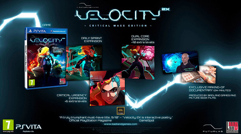 Velocity 2X: Critical Mass Edition PS Vita