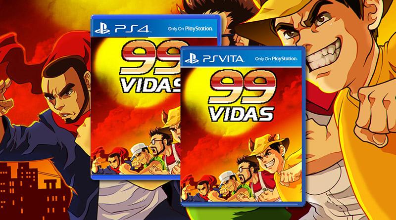 99Vidas PS Vita PS4