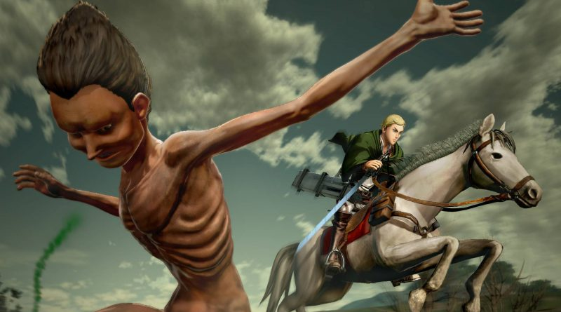 Attack on Titan 2 Nintendo Switch PS4