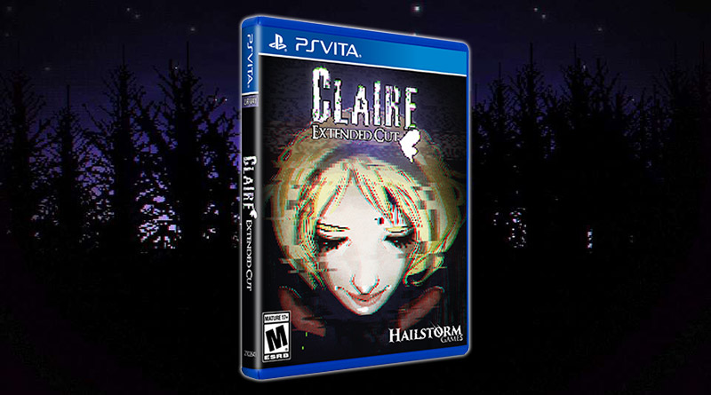 Claire: Extended Cut PS Vita Physical Release