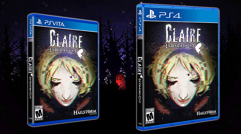 Claire: Extended Cut PS Vita PS4 Limited Run Games
