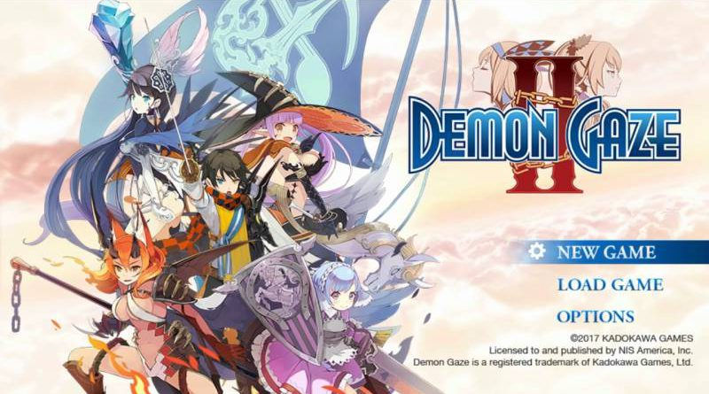 Demon Gaze II 2 PS Vita PS4