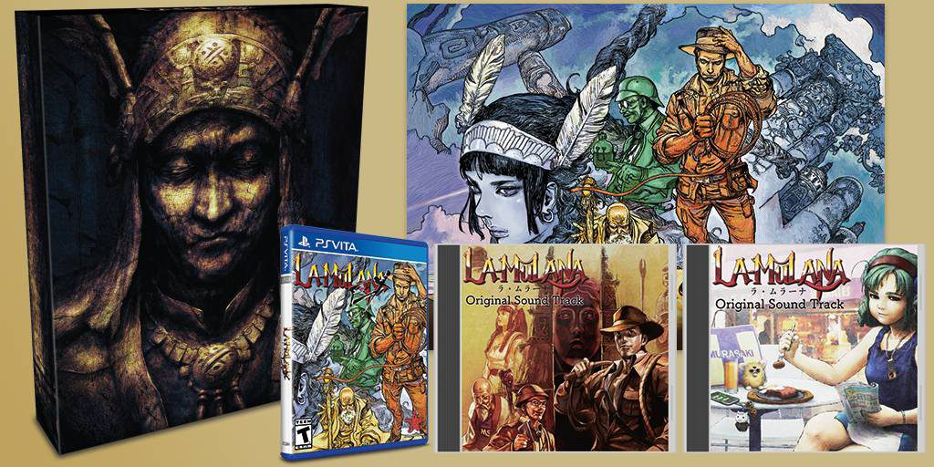La-Mulana EX PS Vita Collector's Edition