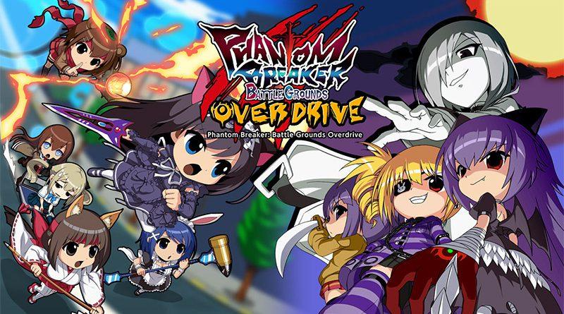 Phantom Breaker: Battlegrounds Overdrive Nintendo Switch