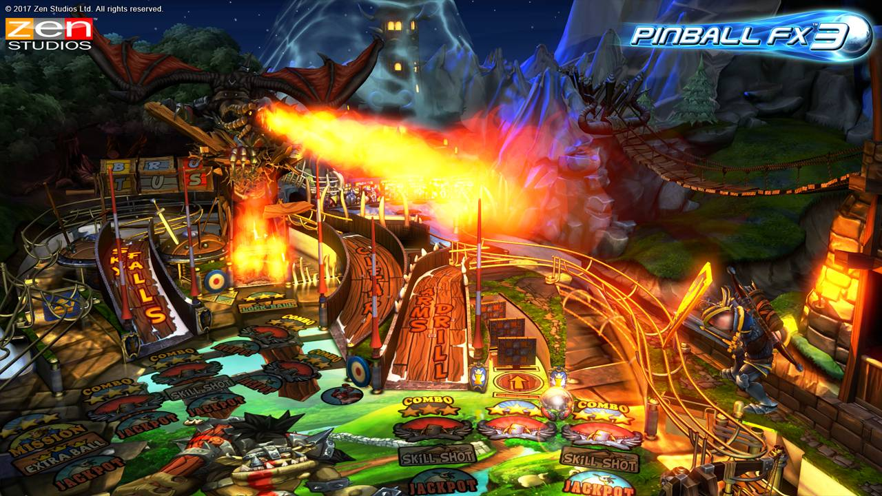 Pinball FX 3 Available now on Nintendo Switch - Get Three